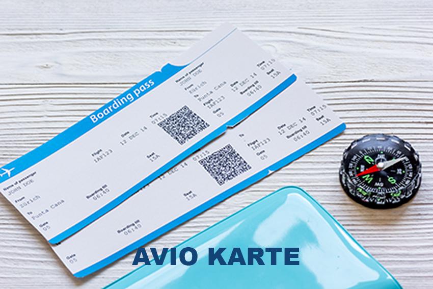 Avio Karte.Avio Karte Compass Travel