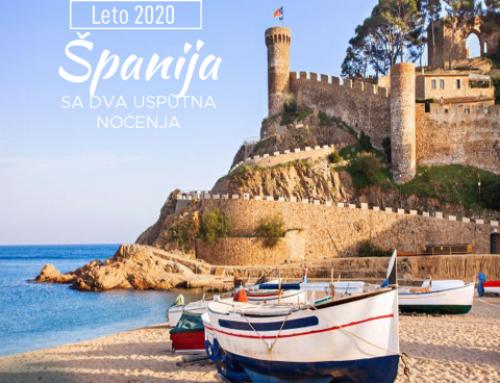 LETOVANJE U ŠPANIJI 2020. SA DVA USPUTNA NOĆENJA